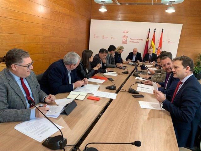 Imagen de la Comisión de Pleno de Infraestructuras, Hacienda, Gestión Económica y Asuntos Generales