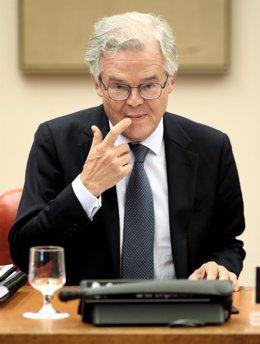El presidente de la Comisión Nacional del Mercado de Valores, Sebastián Albella Amigo.