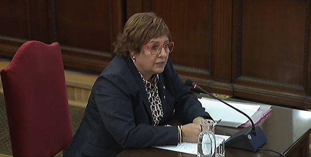 L'exconsellera de Treball, Assumptes Socials i Família de la Generalitat Dolors Bassa declara al Tribunal Suprem (arxiu)