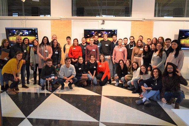 Participantes en la 'scape room' de la UPV.