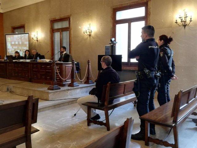 El acusado por el crimen de Sencelles, en el juicio en la Audiencia Provincial