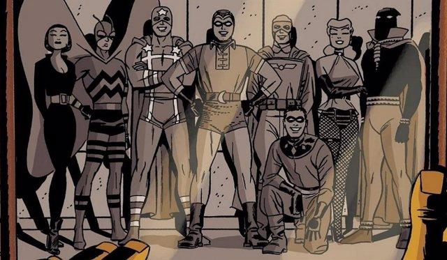 The Minuteme en Watchmen