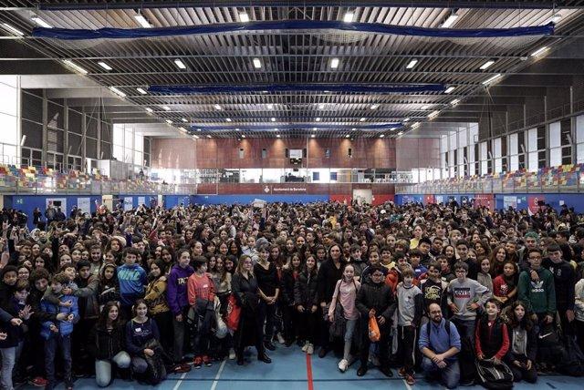 L'Audiència Pública als Noies i els Nois de Barcelona.