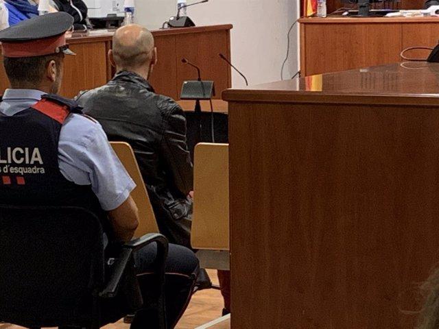 L'instal·lador de fibra òptica acusat de matar una client a Lleida, aquest dilluns en el judici