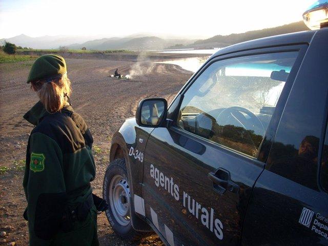 Una agent rural, en una imatge d'arxiu.