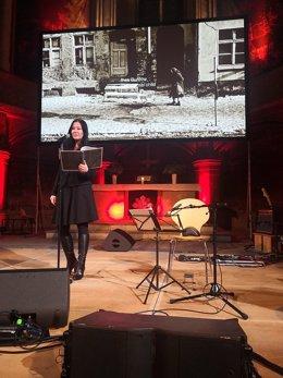 Un espectacle memorial a Barcelona recorda la caiguda del mur de Berlín al Born