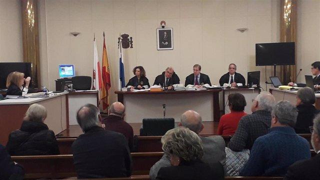 Segunda sesión de cuestiones previas del juicio de La Loma