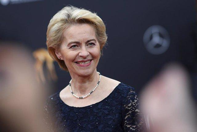 La futura presidenta de la Comisión Europea, Ursula von der Leyen