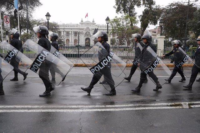 Policía de Perú (Imagen de archivo)