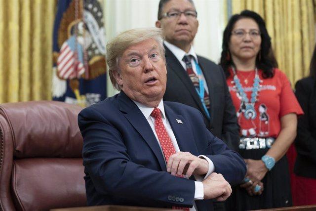 """EEUU/México.- Trump anuncia que declarará """"organizaciones terroristas"""" a los cár"""