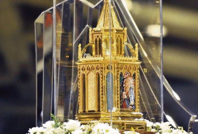 Nuevo relicario de santa Bernardita que recorre las diócesis españolas.