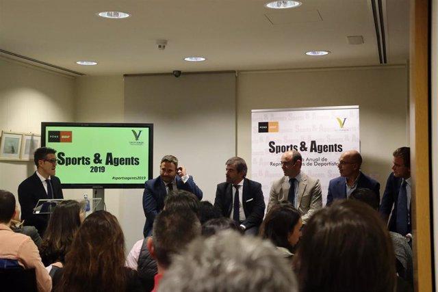 Primer Encuentro Anual de Representantes de Deportistas de PONS Escuela de Negocios en su fundación en Madrid