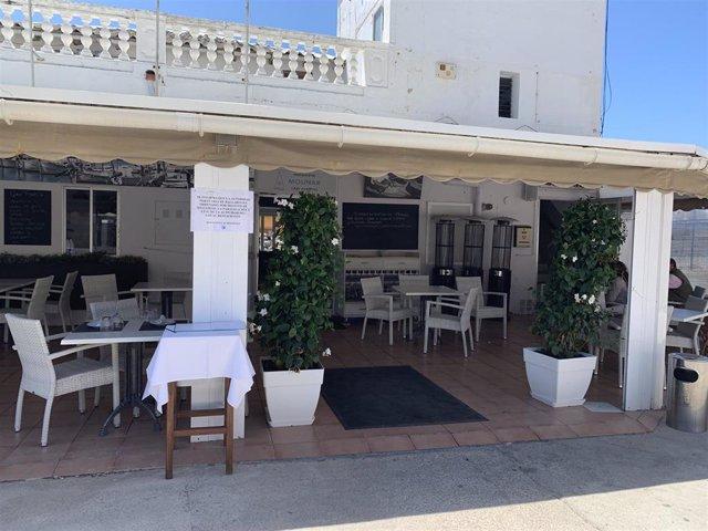 Restaurant del Club El Molinar cesat de la seva activitat