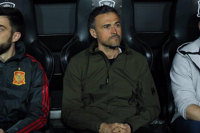 """AV.- Fútbol/Selección.- Luis Enrique: """"Robert Moreno ha sido desleal y no quiero"""