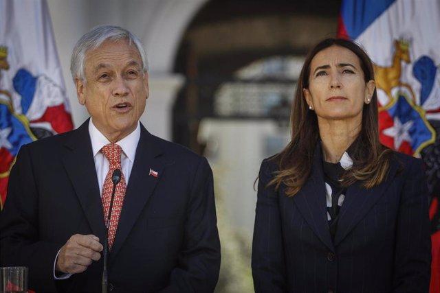 Sebastián Piñera y su ministra de Medio Ambiente, Carolina Schmidt
