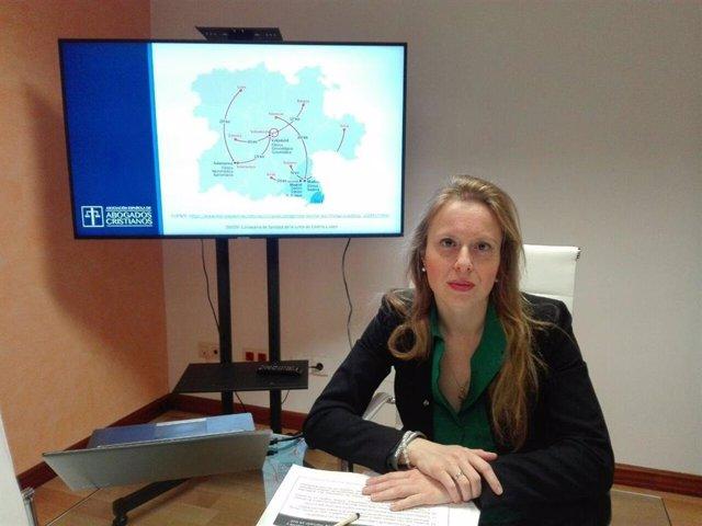 Polonia Castellanos, presidenta de la asociación.