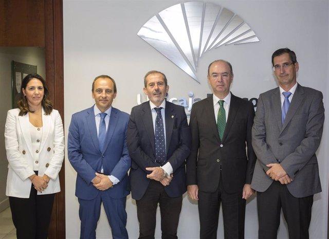 Renovación del acuerdo entre Unicaja Banco y el Colegio de Abogados de Málaga