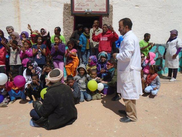 Proyecto de cooperación en los campamentos saharahuis