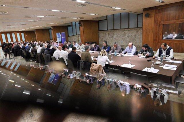 Reunión alcaldes PP cántabro
