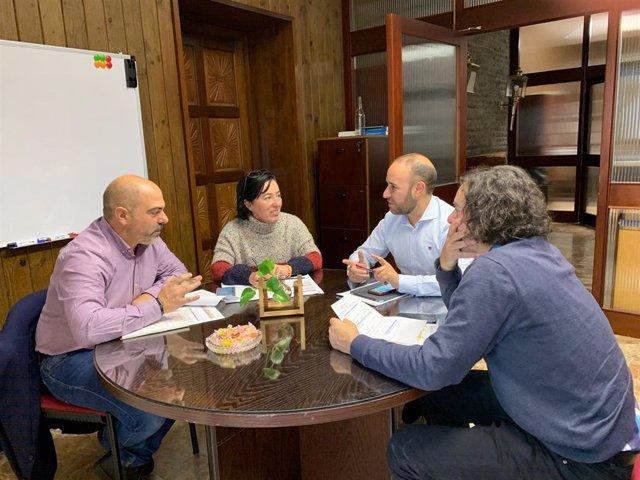 Reunión entre Diputación y Ayuntamiento de Grazalema