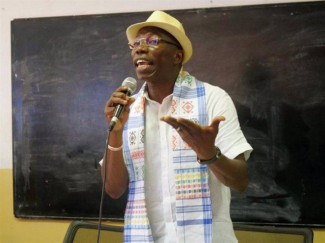 Domingos Simoes Pereira, candidato a la Presidencia de Guinea-Bissau