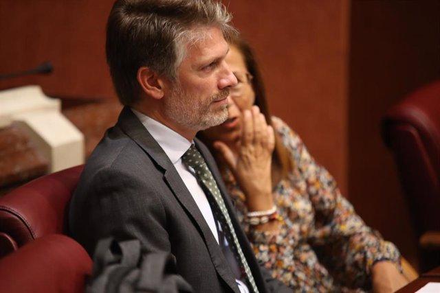 El diputado del PP, Víctor Martínez-Carrasco