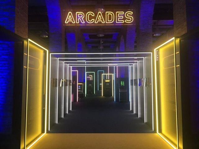 La exposición 'Game On' repasa de forma interactiva la historia del videojuego d