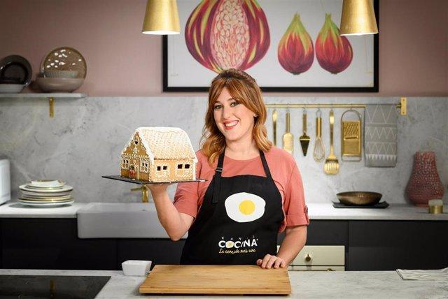 Blanca Mayandía en el especial 'Blanca Navidad' de Canal Cocina