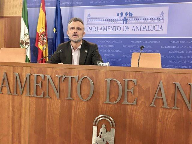 El portavoz parlamentario del PSOE-A, José Fiscal, en una imagen de archivo.