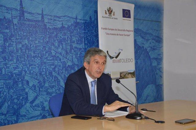 Jose Pablo Sabrido en rueda de prensa