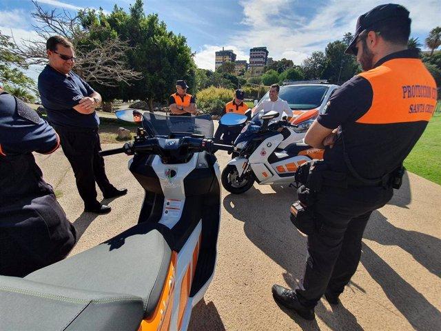 Nuevos vehículos de Protección Civil de Santa Cruz de Tenerife