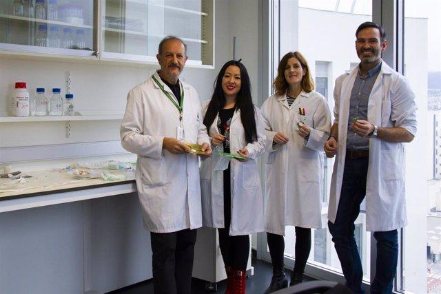 Grupo de científicos que ha realizado el estudio