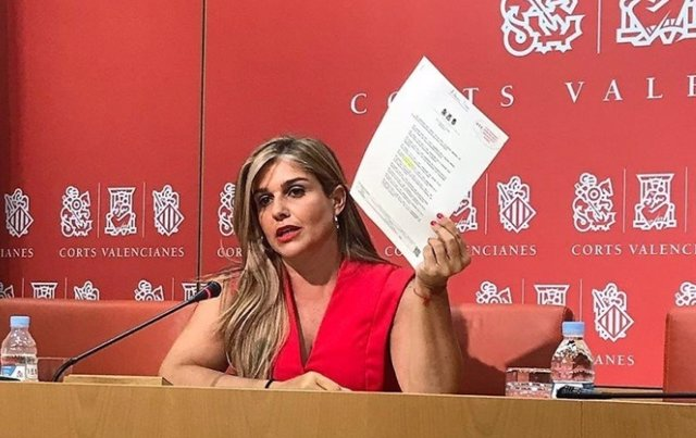 La secretaria general del Partido Popular de la Comunitat Valenciana (PPCV), Eva Ortiz, en una imagen de archivo