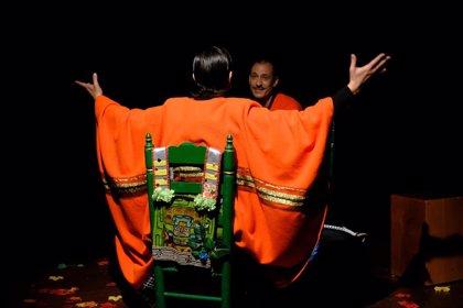 LaPili roza el lleno absoluto en su estreno de 'Chamana', en homenaje a Chavela Vargas, en el Teatro Cánovas de Málaga
