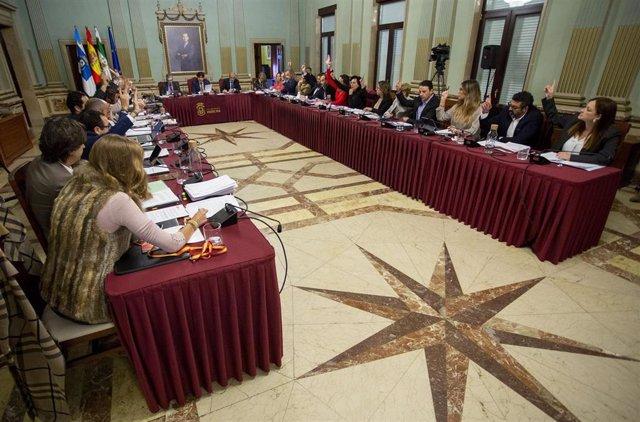 Pleno de noviembre del Ayuntamiento de Huelva.