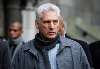 """Cuba/EEUU.- Díaz-Canel denuncia el """"odio"""" de Estados Unidos tras las sanciones contra una empresa cubana"""