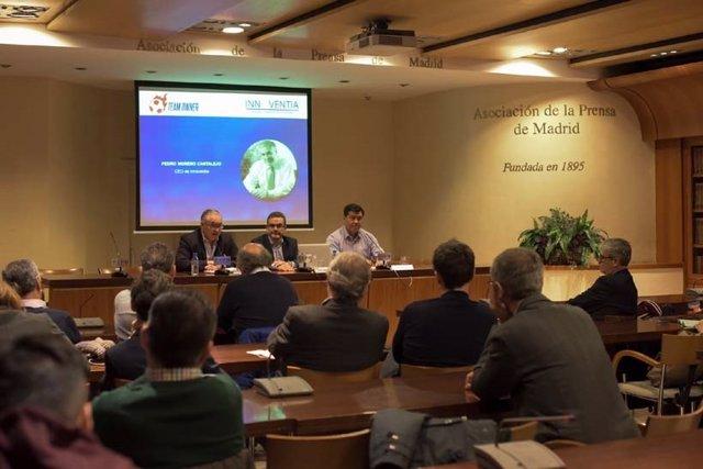 Presentación en la Asociación de la Prensa de Madrid del proyecto Team Owner