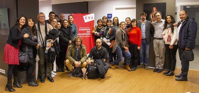 Acto de presentación del Proyecto EVA en Sevilla.