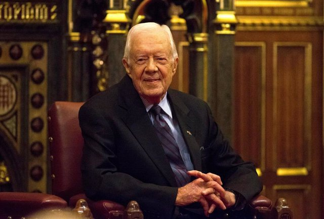 El expresidente de Estados Unidos Jimmy Carter