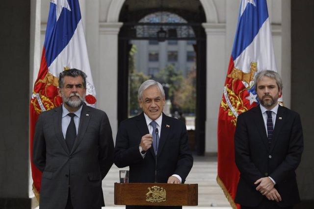 """Chile.- Piñera expresa su hartazgo con manifestantes y partidos: """"Llegó el momen"""
