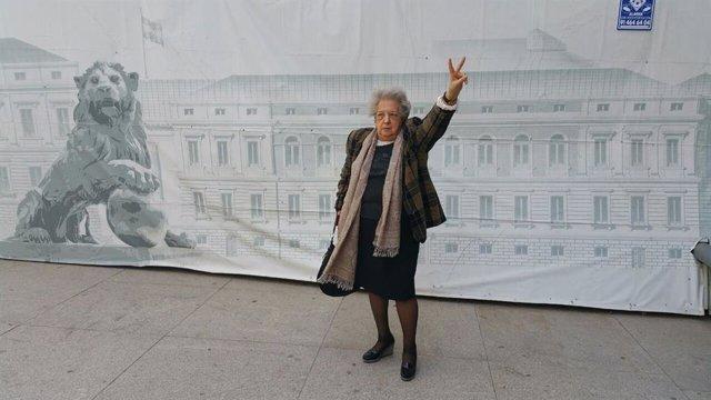 Ana María Pérez del Campo, presidenta de la Federación de Asociaciones de Mujeres Separadas y Divorciadas y vocal del Observatorio Estatal contra la Violencia de Género.