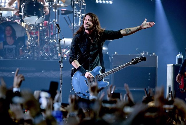 Dave Grohl, cantante de Foo Fighters