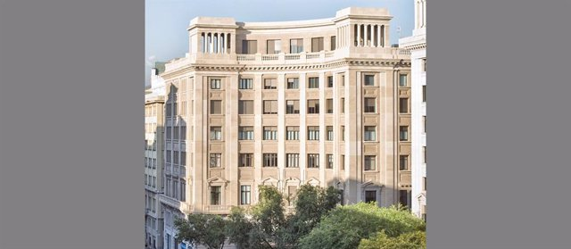 La seu de Foment del Treball, a Barcelona, en una imatge d'arxiu.
