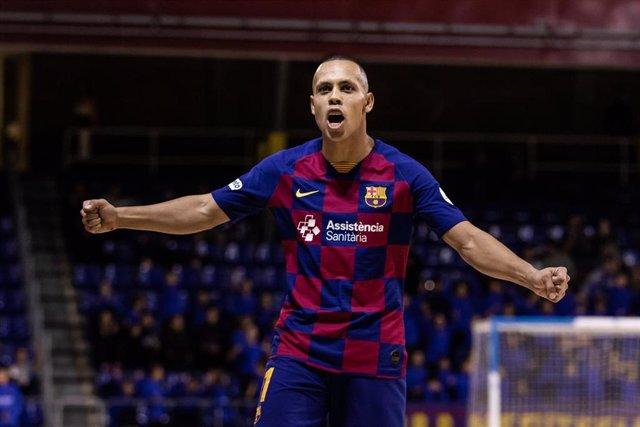 Ferrao, jugador del Barça de fútbol sala
