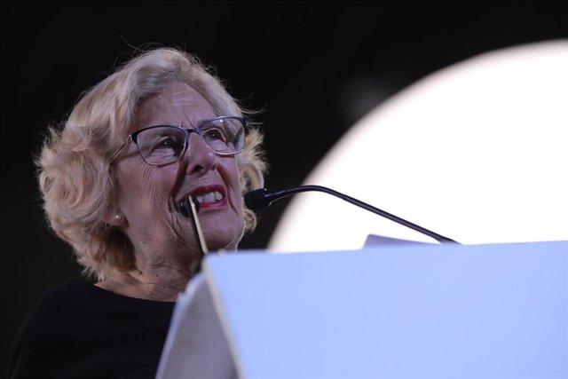 La exalcaldesa de Madrid, Manuela Carmena, en una imagen de archivo.