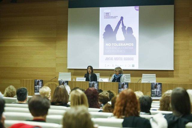 Proyección del documental 'Nagore' en Diputación con motivo del 25N