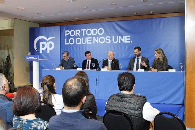 Junta directiva provincial del PP de Almería