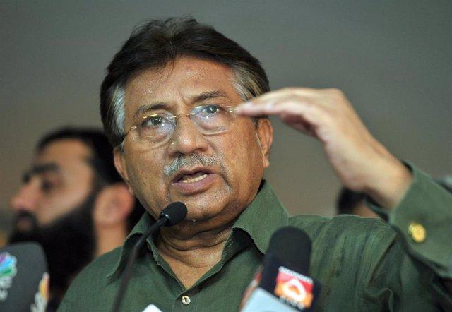 Presidente de Pakistán Pervez Musharraf .