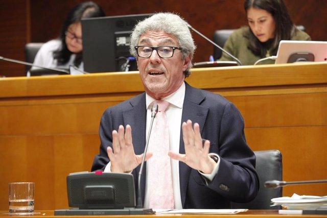 El director general de Transportes del Gobierno de Aragón, Gregorio Briz.
