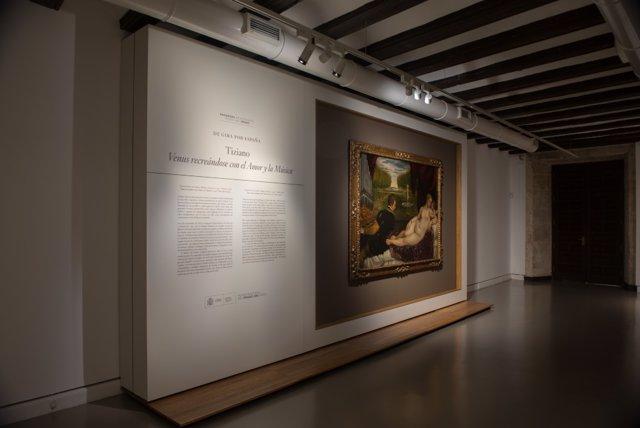 Dpt. Visitantes Exposición Tiziano En Museo De Teruel